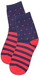 69th Avenue Mens Cotton Socks (Red)