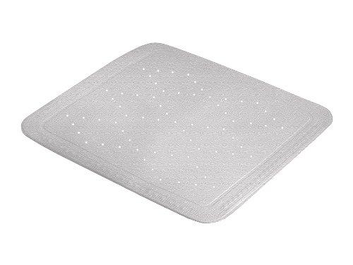 Kleine Wolke Duscheinlage Arosa Möwe, Maße ca. 55 x 55 cm, Grau, 55 x55