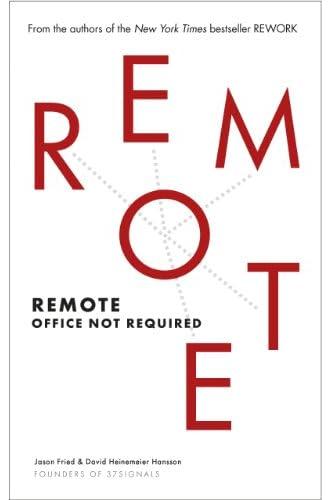 Descargar gratis Remote: Office Not Required de David Heinemeier Hansson