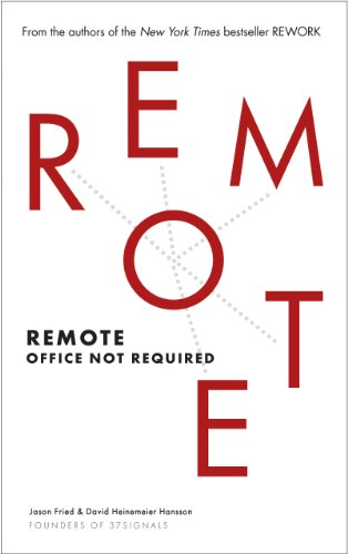 Remote: Office Not Required (English Edition) (Boss Remote)