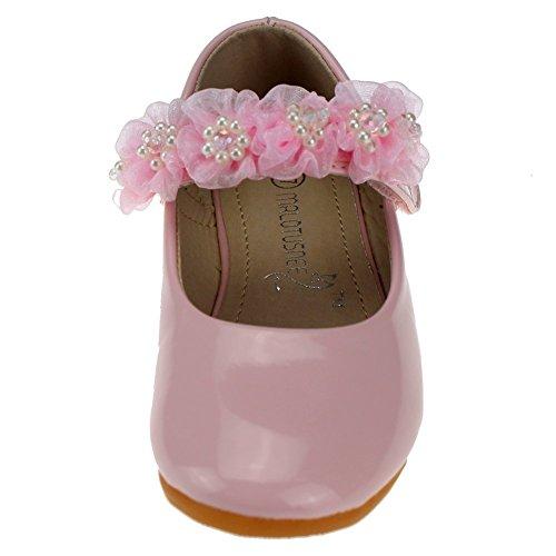 Cixi Maxu E-Commerce.Co.Ltd , Sandales pour fille Rose