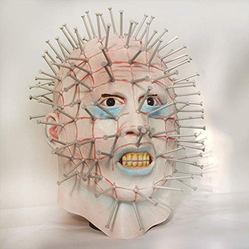 Kostüm Gänsehaut - Ellyeall Gänsehaut Masken Scary Monster Halloween-Kostüme Maske Auf Erschrocken Atmosphäre Blutige Masken Für Für Halloween-Party Karneval Festival,A