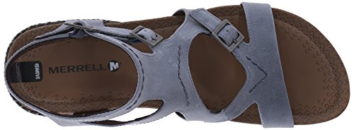 Merrell Whisper Buckle, Espadrilles Femme Dusty Blue