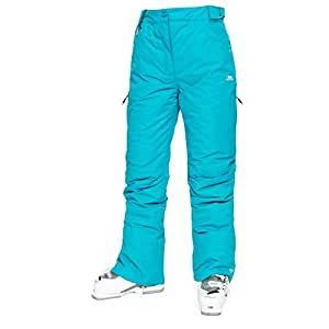 Trespass Womens/Ladies Lohan Waterproof Ski Trousers (XXS) (Marine)