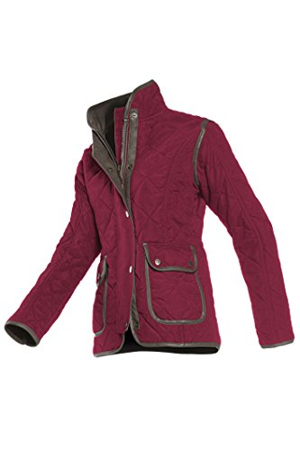baleno-womens-hepburn-diamont-quilted-jacket-wine-red-x-large