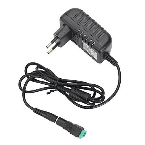Signcomplex LED Schaltnetzteil 12V Transformatoren Der Adapter Netzteil Ausgang 12V DC 1A Max 12 Watt Max, CE-Zertifizierung(EU Plug)