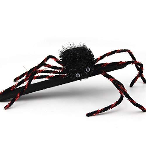 l Dekoration Set Halloween Party Kostüm Ball Ganzkörper Spider Requisiten Spider Ring 1 Pack für Halloweendeko Make-up-Party Halloween Dekoration ()
