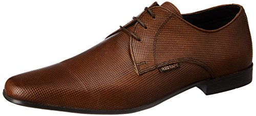 Red Tape Men's Derbys Tan Leather Formal Shoes