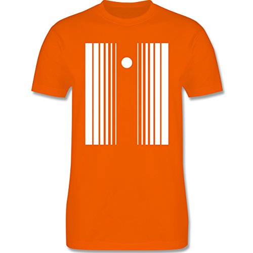 Karneval & Fasching - Doppler Effekt - Herren Premium T-Shirt Orange