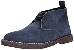 Steve Madden Mens Logik Chukka Boot, Navy Suede, 10 US/US Size Conversion M US