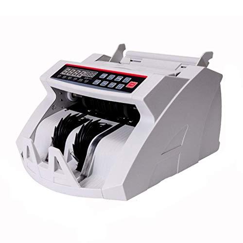 LBSX Geld Zähler Banknotenzählmaschine mit UV/MG/IR-Detektion Business Grade Währung Cash Counter, Falschgeld-Erkennung for Supermärkte, Banken Geld-Handling-Produkte