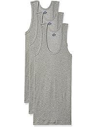 Dollar Bigboss Men's Cotton Vest (Pack Of 3) (8902889480671_MDVE-02-BB-DERBY-GREY MELANGE_95_Grey Melange)