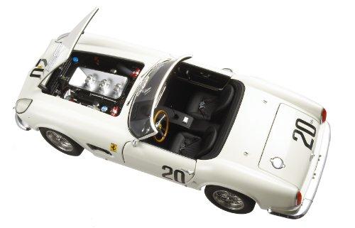 Hotwheels - T6931 - Voiture Miniature - Elite (Mattel) - Ferrari 250 GT California SWB Spider Le Mans - Echelle 1/18