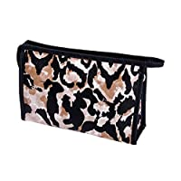 TENDYCOCO Toiletry Bags Leopard Travel Storage Dopp Kit Organizer for Accessories Personal Items