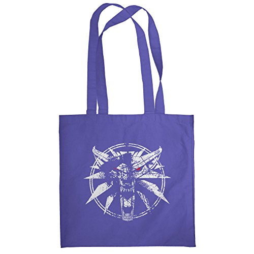 Texlab–hexer Logo–sacchetto di stoffa Marine