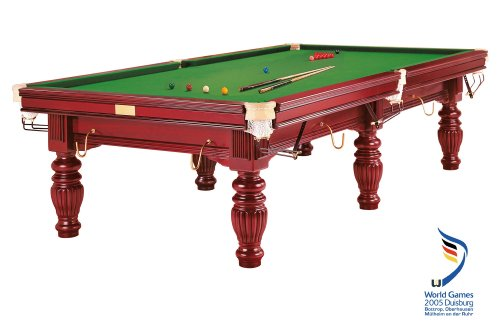 Billardtisch Dynamic Prince, 9 ft. (Fuß), mahagoni, Snooker
