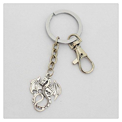 Charm Drache Schlüsselanhänger Drache Schlüsselanhänger Dragon Jewelry Schlüsselanhänger Drache Charm Bead
