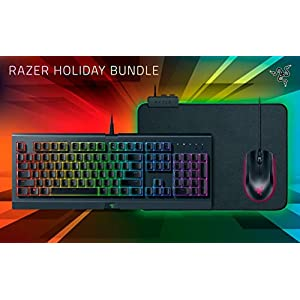 Razer Holiday Bundle Tastatur, Maus, Mauspad