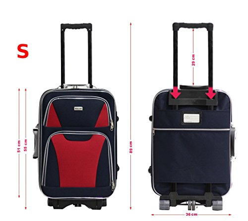 41BvYQ1uhOL - Alistair - Juego de maletas  adultos unisex