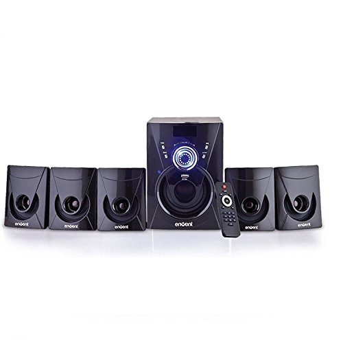 Envent Deejay 702 ET-SP51220 5.1 Multimedia Home Theatre (Black)