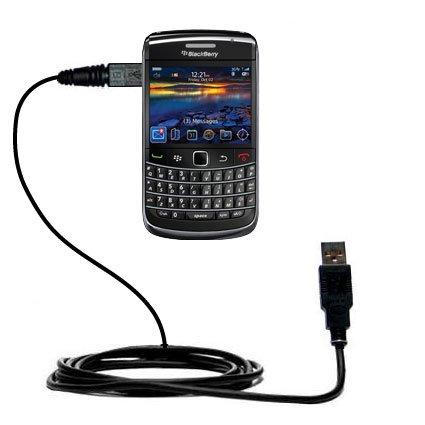 Klassisches Direkt-USB-Kabel für Blackberry Onyx 9700 mit Power Hot-Sync und Ladekapazitäten Verwendet die TipExchange Technologie