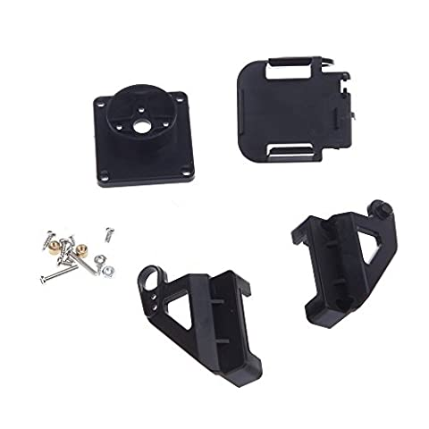 SODIAL(R) Plastic PT Kit Pan/Tilt Camera Platform Anti-Vibration Mount for RC