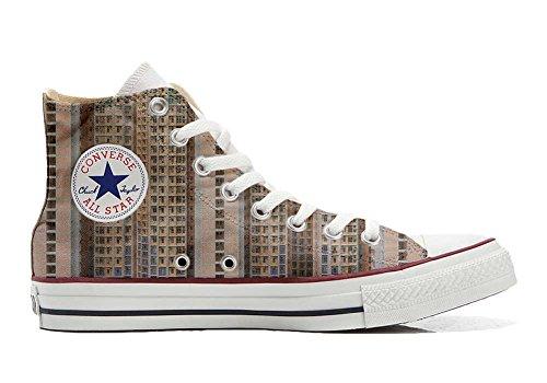 stomized - personalisierte Schuhe (Handwerk Produkt) Architecture of Density Size 42 EU ()