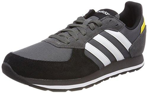 premium selection 73412 b1bf0 adidas 8k, Zapatillas de Gimnasia Para Hombre, Gris (Grey Five F17 Ftwr