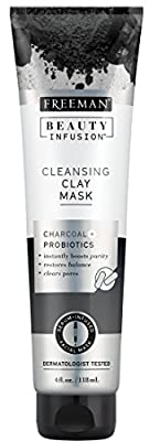 Beauty Infusion Cleansing Charcoal and Probiotics Clay Mask from Freeman Beauty