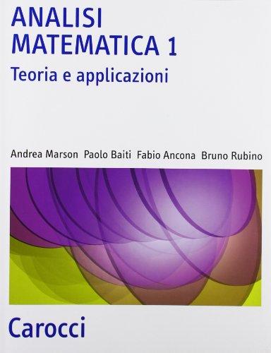 Analisi matematica: 1