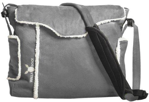 Preisvergleich Produktbild Wallaboo Wickeltasche Nore, Praktische Tasche mit viel Stauraum + Wickelunterlage + Wäschesack + Flaschentasche