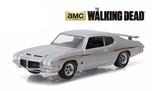 1971-pontiac-gto-silver-episode-101-the-walking-dead-tv-series-2010-2015-1-64-by-greenlight-44730-e-
