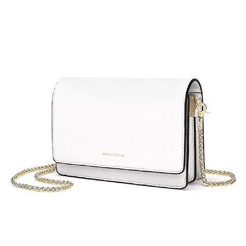 Ruidi Eine Fee, Eine Alte Schachtel, Elegant, Einfach Kaviar, Eine Kette, Eine Kleine Tasche, Eine Schulter. 13 * 6 * 20cm/Weiß - Alter Kaviar