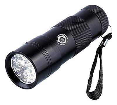 GEO-VERSAND CacheEquip - 12 LED UV, schwarz, One Size, CE11103 von CACLK #CACHEEQUIP bei Outdoor Shop