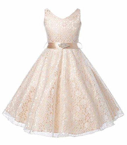 Mädchen Kinder Prinzessin Festkleider Hochzeit Partykleider Brautkleid Kleider