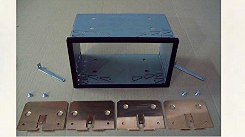 G.M. Production - 708 - GABBIA TELAIO E CORNICE PLASTICA KIT INSTALLAZIONE AUTORADIO MONITOR NAVIGATORI GPS 2 DIN UNIVERSALE SU VANI ALLOGGIO DA 103MM