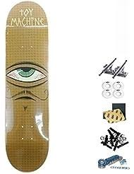 Monopatín skate skateboard Toy Machine TM 7.75 MUSTACHIO PP complete