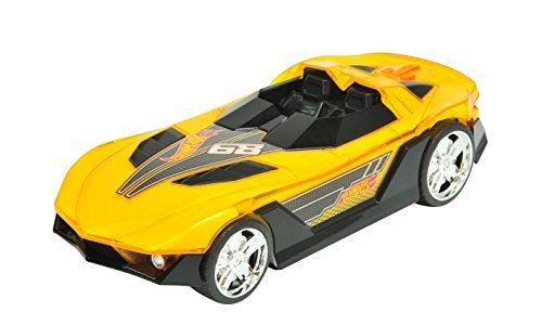 Toy State - Hot Wheels - Hyper Racer - Light and Sound Yur So Fast by Toystate