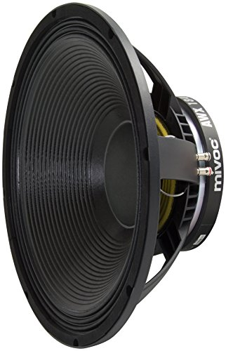 mivoc AWX 184 MK II Subwoofer-/Tiefton Chassis 46cm (18 inch) 600 Watt R.M.S. (Subwoofer 18)