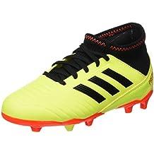 official photos 418a7 be18e Adidas Predator 18.3 FG J, Zapatillas de Fútbol para Niños