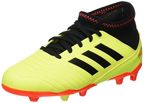 online store 94531 ef8e0 adidas Predator 18.3 FG J, Zapatillas de Fútbol para Niños, Amarillo  Yellow Core