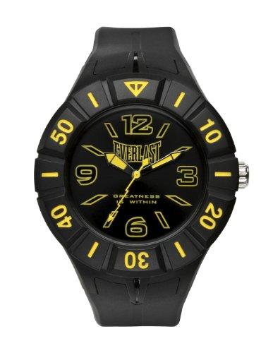 Bernex EV-217-003 - Reloj analógico unisex de plástico Resistente al agua negro