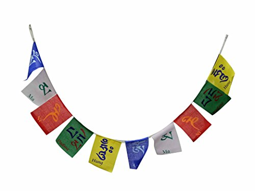 A&A Automobile Premium Quality Ladakh / Tibet Prayer Flags Big Size - Honda CB Trigger  available at amazon for Rs.199