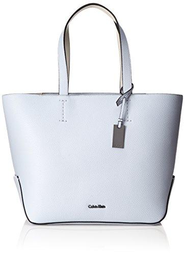 Calvin Klein Damen Edit Medium Shopper Tote, 16 x 28 x 28 cm, Violett (427) (Medium Bag Tote Handtasche)