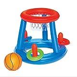 Wasser Basketballkorb Pool Float Aufblasbare Schwimmbad Spielzeug Wasser Sport Spielzeug Pool Schwimmende Spielzeug für Kinder