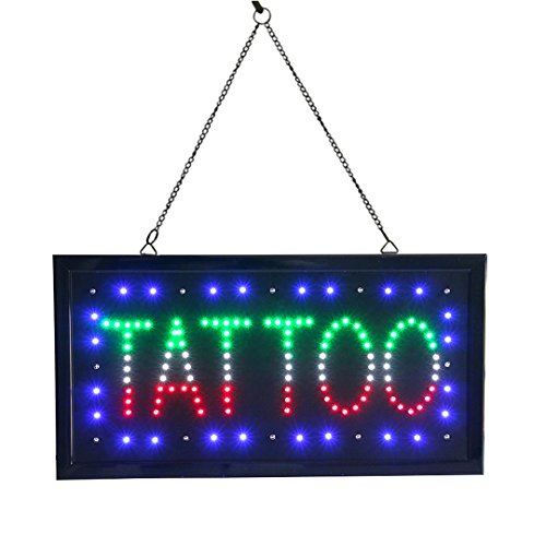 LED Leuchtreklame Billboard für Tattoo Parlour Tattoo Shop Signage Schönheit Werkzeuge Zusatzgeräte TATTOO Sign Light