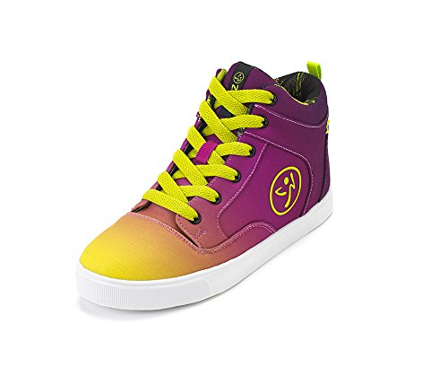 Zumba Footwear Girls' Rio Zumba Street Fresh Fitness Shoes, Purple (Purple), 39 UK