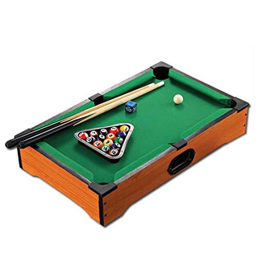 i Home Pool Billardtisch beinhaltet Spielbälle, Sticks, Kreide und Triangle Portable und Spaß für die ganze Familie (Farbe : One Color, Größe : 20.3''*12.4''*3.7'') ()