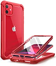 i-Blason Ares Case for iPhone 11 6.1 inch (2019 Release), Dual Layer Rugged Clear Bumper Case with Built-in Sc