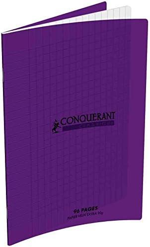 CONQUÉRANT SEPT Lot de 10 Cahiers 240 x 320 mm, séyès, 96 pages violet B06W9NSRKD | Offre Spéciale